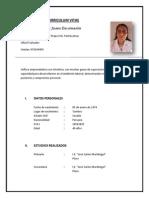 Curriculum Vitae - Juana Rodriguez Jimenez