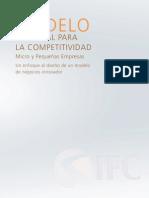 Modelo Nacional Para La Competividad
