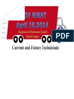 Tech Night 2014