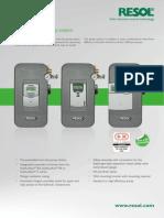 Resol FlowSol B Brochure