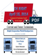 Tech Night 2014 Flyer