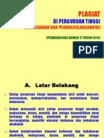 Slide Pencegahan Dan Penanggulangan Plagiat