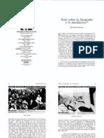 Nota sobre la fotografía y lo simulácrico_R. Krauss