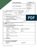 F1-PR-07 (Formulir Isian Data Administrasi)