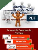 Proceso de Dotación de personal