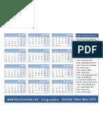 Kalender 2010 1halaman
