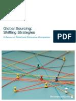 Global Sourcing Shifting Strategies