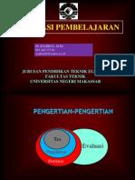 1 Materi Kuliah Evaluasi Pembelajaran