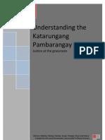 Understanding the Katarungang Pambarangay