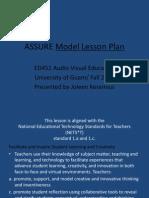 assurelessonplan-100428043837-phpapp02