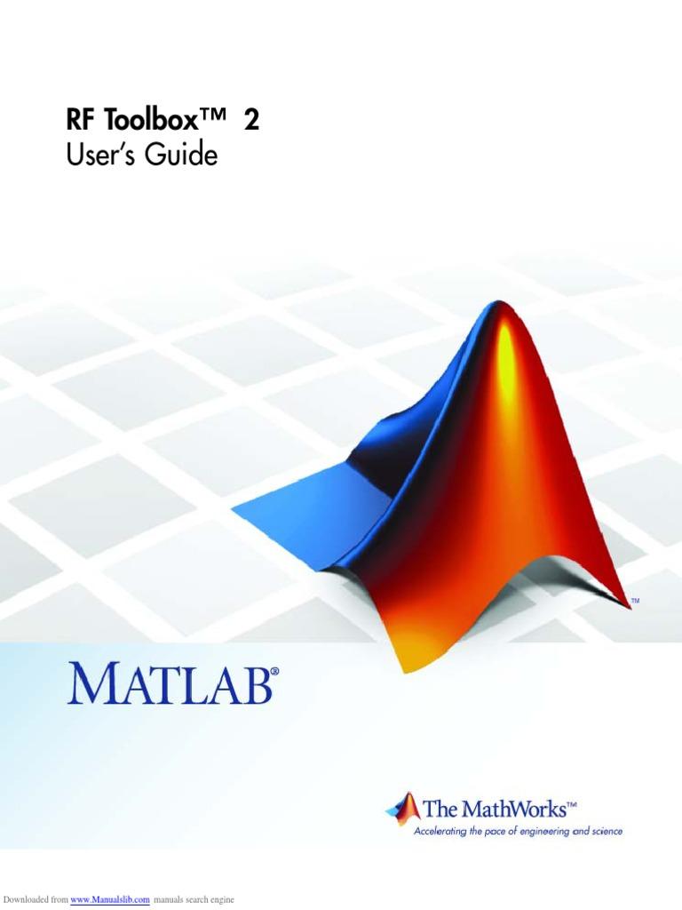 Rf Toolbox 2 | Matlab | Command Line Interface