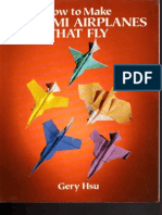 Origami Airplanes That Fly