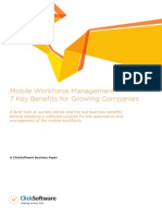 7 Key Benefits of Mobile Workforce Management