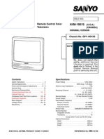 Sanyo - Avm 1901 Service Manual