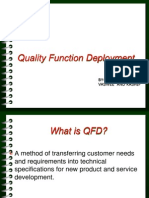 Quality Function Deployment (1)