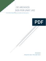 Sistemas de Archivos en Unix