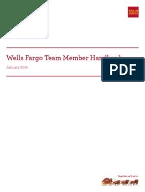 Wells Fargo Employee Handbook | Fair Labor Standards Act