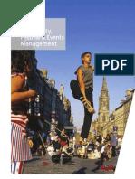 Tourism, Hospitality, Festival & Events Management