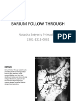 CSS - Barium Follow Through