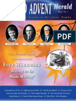 1. Second Advent Herald [Five Warriors ('Willing to Be Made Willing')]