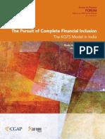 Kgfs Model