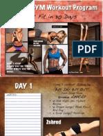 Zuzka 30 Day Calendar