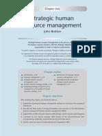 Strategic Human Resource Management by John Bratton (1)