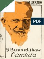 Bernard Shaw Candida Espanol