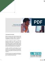Matrix Proton205 Brochure