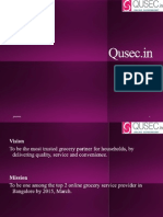 Qsec - Online Grocery store