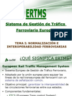 Sistemas ERTMS. Generalidades