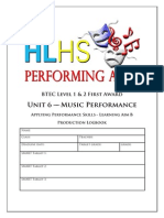 unit 6b music logbook