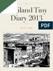 Thailand Tiny Diary 2013