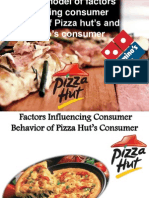 Consumer Behavior - Dominoz & Pizza