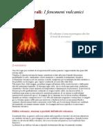 I Fenomeni Vulcanici