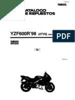Catalogo Repuestos Yamaha YZF600R