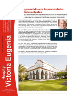 Hospital Victoria Eugenia. Boletin Informativo. Comprometidos Con Las Necesidades Sanitarias Actuales