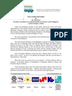 TAPP Forum 2014- Speech_JFC Pres._AnzCham Ian Porter