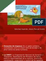 Ley de Trasplante - Sánchez Huamán, Alexis