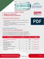 Oracle e Business