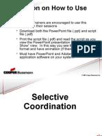 21955721 Selective Coordination