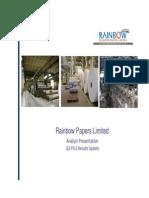 Rainbow_Analyst Presentation_Q3 FY13