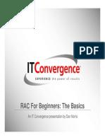 RAC fpr beginners