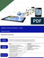 Mobile Internet Market in India 2014 - Sample