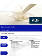 Dairy Market in India 2014 - Sample