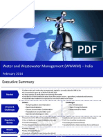 Water and Wastewater Mangement in India 2014 Sample