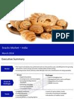 Snacks market in india 2014 - Sample