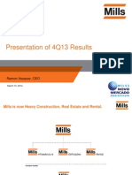 4Q13 Presentation of Results