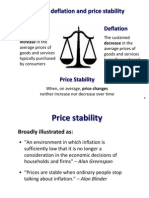 Inflation and Price Stability
