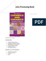 Ceramics Processing Book